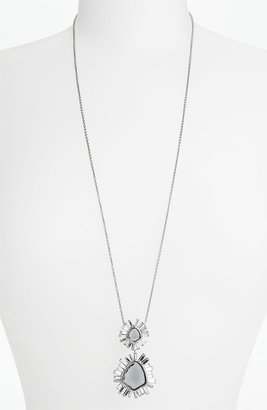 Alexis Bittar 'Miss Havisham - Bel Air' Long Starburst Pendant Necklace