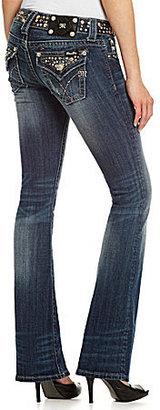 Miss Me Rhinestone-Embellished Bootcut Jeans