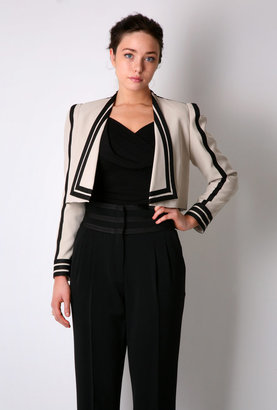Jaeger Wing Collar Cropped Tux