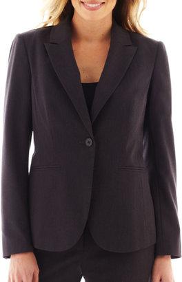 LIZ CLAIBORNE Liz Claiborne One-Button Peak Lapel Blazer - Tall $65 thestylecure.com
