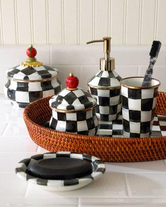 Mackenzie Childs MacKenzie-Childs Courtly Check Soap Dish