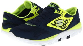 Skechers Performance - GOrun (Navy/Lime) - Footwear