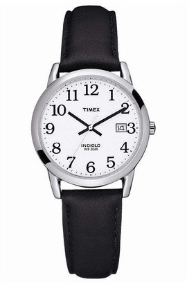 Timex Easy Reader Mens Black Strap Watch
