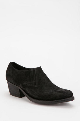 Jeffrey Campbell Arizona Suede Cut-Off Ankle Boot