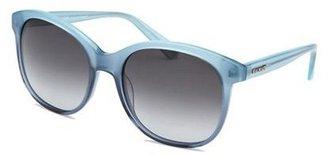 Balmain Women's Light Blue Butterfly Sunglasses