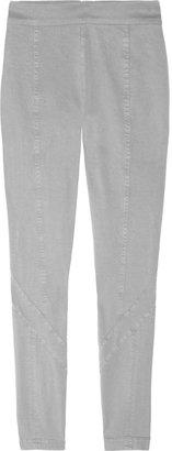 Donna Karan Stretch-twill skinny pants