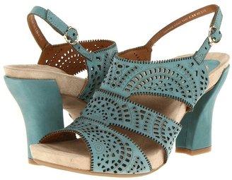 Earthies Captiva (Light Teal) - Footwear