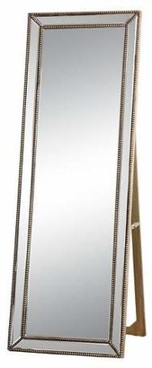 Abbyson Living Courtney Rectangle Floor Mirror Gold
