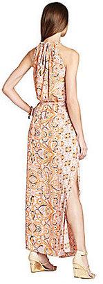 BCBGMAXAZRIA Mia Printed Maxi Dress