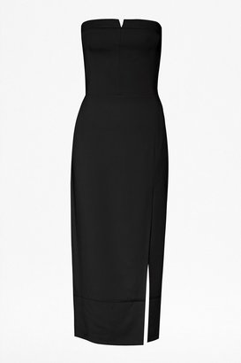 French Connection San Diego Drape Strapless Dress