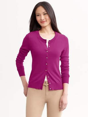 Banana Republic Jewel-button cardigan
