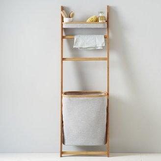 west elm Bamboo Leaning Bath Shelf