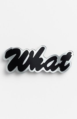 Cara Couture 'What' Pin