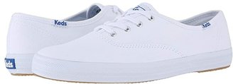 Keds Champion-Canvas CVO (White Canvas) Women's Lace up casual Shoes