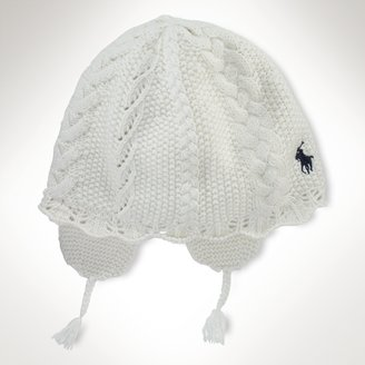 Cable Earflap Hat