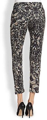 Haute Hippie Slim Shady Printed Modal Pants