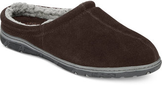 Rockport Men's Slippers, Faux Shearling-Lined Clogs