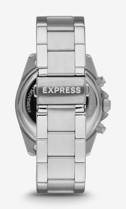 Express Glendale Pave Embellished Chronograph Watch