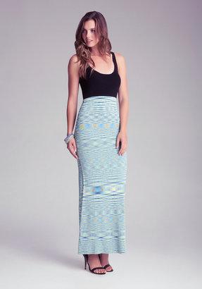 Bebe Petite Space Dye Maxi Dress