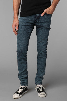 Urban Outfitters Standard Cloth Blue Acid Super Skinny Jean