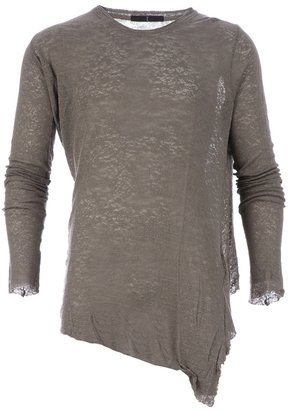 Julius loose asymmetric t-shirt