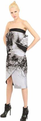 Mary Katrantzou Techno Silk Jacquard Dress