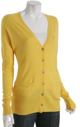 Joie yellow 'On Our Way' tunic cardigan