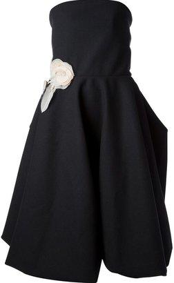 Lanvin strapless asymmetric dress