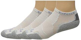 Thorlos Experia Low Cut 3-pair Pack (Black) Low Cut Socks Shoes