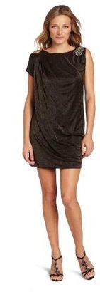 Nine West Dresses Women's Shimmer Jersey Shift Dress