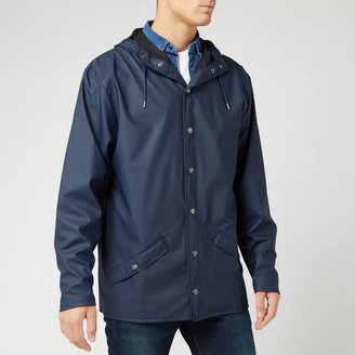 Rains Jacket - Blue - XS-S