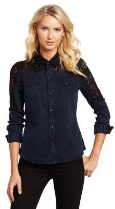 Joe's Jeans Women's Western Lace Shirt
