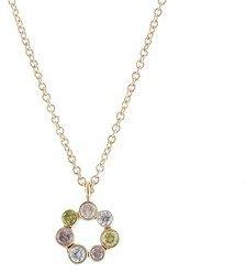 Jamie Joseph Tiny Circle of Diamonds Necklace