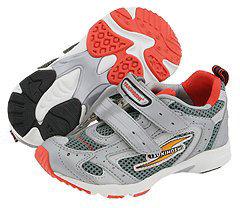 Tsukihoshi Mirage (Toddler/Youth) (Silver/Orange) - Footwear