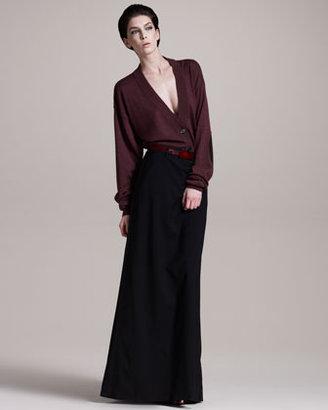 Maison Martin Margiela Long Tuxedo Skirt