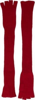 Barneys New York Extra-Long Fingerless Gloves