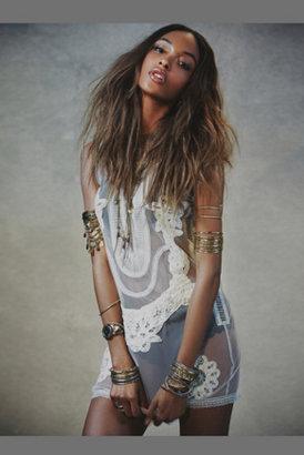 Candela Womens Elle Lace Mini Dress