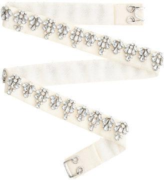 J.Crew Jeweled belt