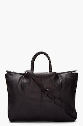 Alexander Wang Black Leather Liner Tote