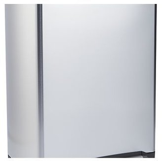 simplehuman ® 46-Liter/12-Gallon Stainless Steel Recycler Trash Can