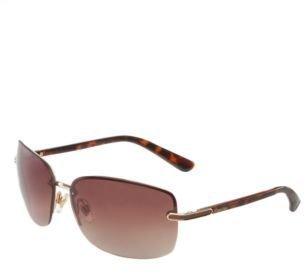 Calvin Klein Rimless Square Sunglasses