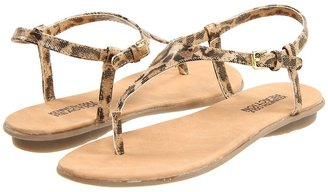 Kenneth Cole Reaction Sunny Hunny (Little Kid/Big Kid) (Light Gold Metallic Leopard) - Footwear