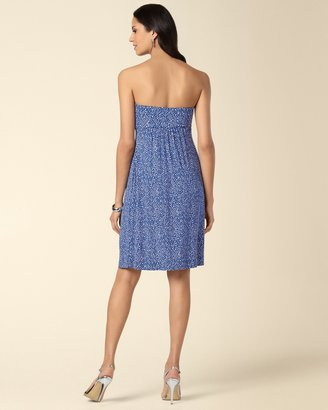 Soma Intimates Dainty Blue Knotted Bandeau Dress