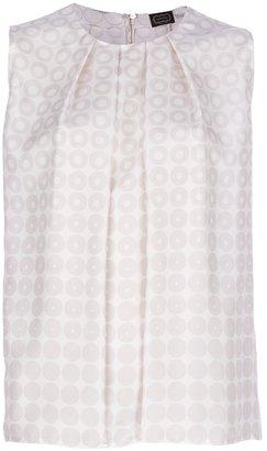 Agnona printed vest top