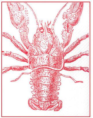 Thomas Paul Lobster Throw 50x70 Lava
