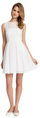 Cynthia Steffe CECE BY Jensen Sleeveless Eyelet Dress