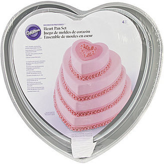 JCPenney Wilton® Decorator Preferred Heart Cake Pan Set