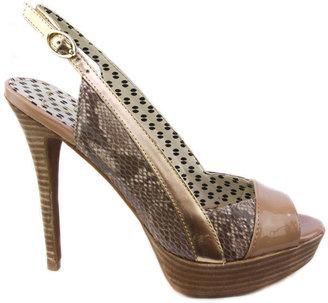 Jessica Simpson Blossom Havana Combo High Heels