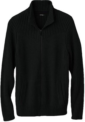 Apt. 9 ribbed full-zip sweater