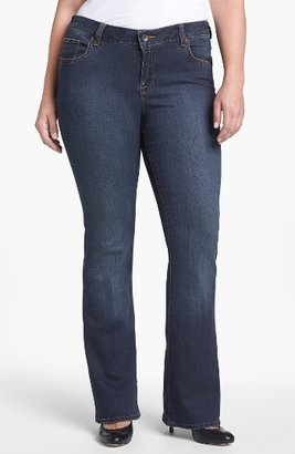 Lucky Brand Plus Size Women's 'Ginger' Bootcut Jeans